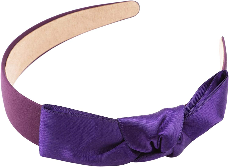 lquuo Bow Headband Printing Hairband Sports Headband Stretch Breathable