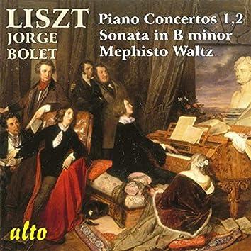 Jorge Bolet Plays Liszt Concerti, Sonata In B Minor, Mephisto Waltz