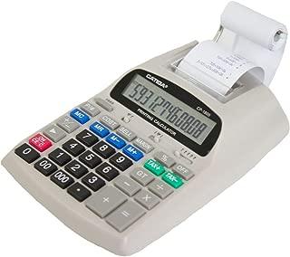 Catiga 12-Digit Desktop Commercial Printing Calculator - Two Color - 2.03 Lines/sec - CP-1800 (White)