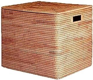 Lpiotyucwh Paniers et Boîtes De Rangement, 1pcs Boîte de Stockage de vêtements de Grande capacité de Grande capacité, (Bru...