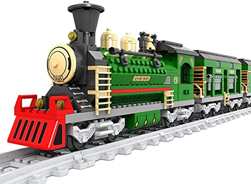 precios bajos Yyz Serie de Trenes Trenes Trenes de ensamblaje de Bloques de Trenes Vintage Juguetes 666 unids para Niños educación educativa Juguetes educativos Regalos de cumpleaños  El nuevo outlet de marcas online.