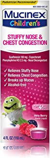 Mucinex Children's Liquid - Stuffy Nose & Cold Mixed Berry 4 oz