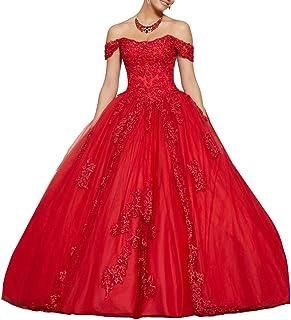 Vestido de princesa para mujer de Nanger con hombros descubiertos