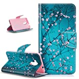 Coque Huawei Honor 5C,Etui Huawei Honor 5C, ikasus PU Portefeuille Folio Flip Wallet Coque Etui Support Fermeture Carte de crédit...