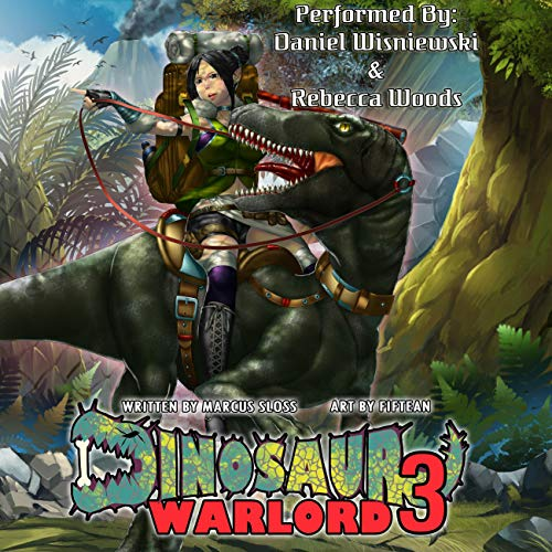 Dinosaur Warlord 3 Audiobook By Marcus Sloss cover art