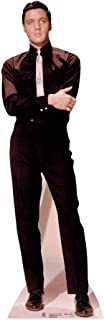 Star Cutouts SC228 Official Lifesize Cardboard Cutout Elvis Presley in Suit and Tie (Black/White)