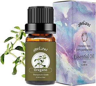 yethious Oregano Essential Oils 100% Organic Pure Essential Oil Therapeutic Grade Aromatherapy Gift Oil 10ml