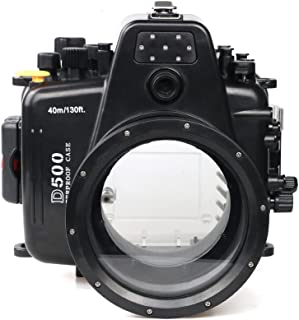 Sea Frogs ニコン Nikon D500 用 水中カメラケース アンダーウォーターハウジング 防水性能40m 防水プロテクター 防水ケース 防水ハウジング 保護ケース 防水プロテクター 水中撮影用 国際防水等級IPX8