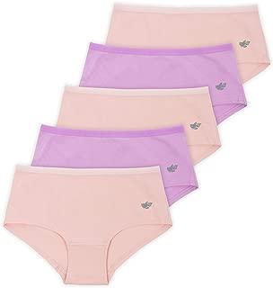 Lucky & Me | Annika Girls Boyshort Panties | Soft Cotton Blend Underwear | 5-Pack