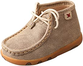Twisted X Genuine Leather Infant Chukka Driving Moc Shoes