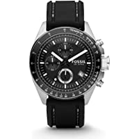 Deals on Fossil CH2573IE Dexter Black Dial Chronograph Mens Watch