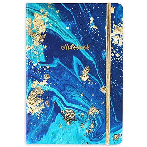 Liniert Notizbuch/Journal - Hardcover Liniert Notizbuch mit Premium-Dickpapier, College Notizbuch A5 Liniert, Perfekt für Büro Hausschule Business Writing & Note Nehmen, 8,3