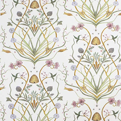 The Chateau by Angel Strawbridge Potagerie Wallpaper (CHWP3A), Cream