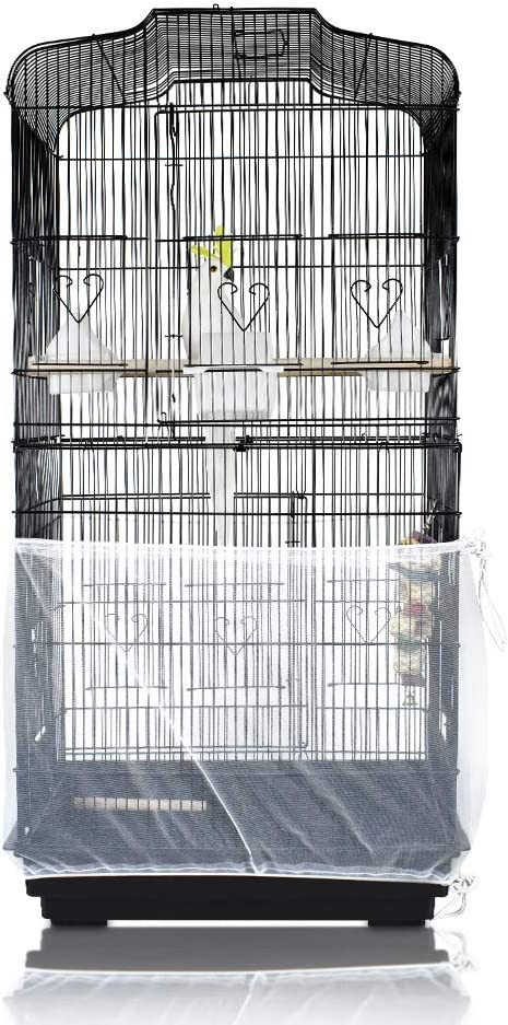 SYOOY Bird Max 45% OFF Cage Cover Seed Universal Gu Portland Mall Birdcage Catcher Netting