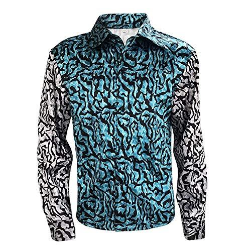 Mens Tiger King Shirt Joe Exotic Button Dress Shirt at Amazon Men's Clothing store