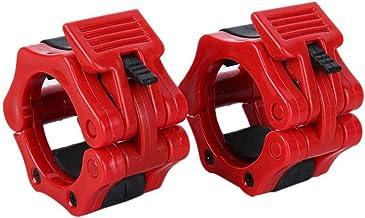 """barbell clip 1 Paar 2""""Sluitingen Kragen Lock Dumb Bell Clips Clamp Gewichtheffen Bar Gym halters Fitness Body Building Str..."""