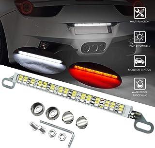 Rear License Plate Frame LED Lights & Brake LED Lights...