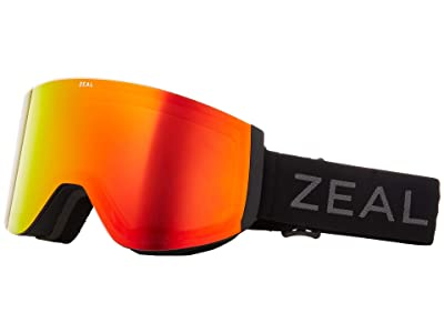 Zeal Optics Hatchet (Dark Night w/ Phoenix Mirror + Sky Blue Mirror) Snow Goggles