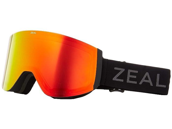 Zeal Optics Hatchet (Dark Night w/ Phoenix Mirror + Sky Blue Mirror) Snow Goggles