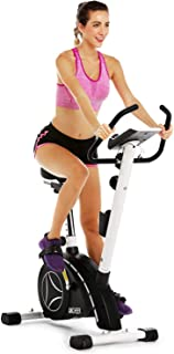 ANCHEER Upright Bike, Magnetic Resistance Exercise Bike for Cardio Workout Indoor Cycling