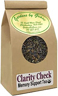 Mental Clarity, Focus, Memory, Concentration, Energy Booster   Herbal Formula   Organic, Loose Leaf Tea, 4 oz