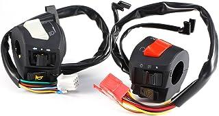 "Motorcycle 7/8"" Handlebar Horn Turn Signal Headlight Electrical Start Switch"
