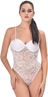 My Secret Drawer Push-up Cup Lace Teddy