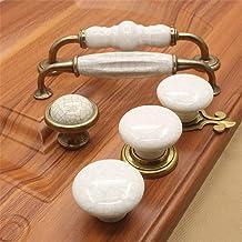Furniture Handle Keramische Handle Wardrobe antieke Handvat Ceramic Handvat van de deur for Cupboard kledingkasten (Kleur:...