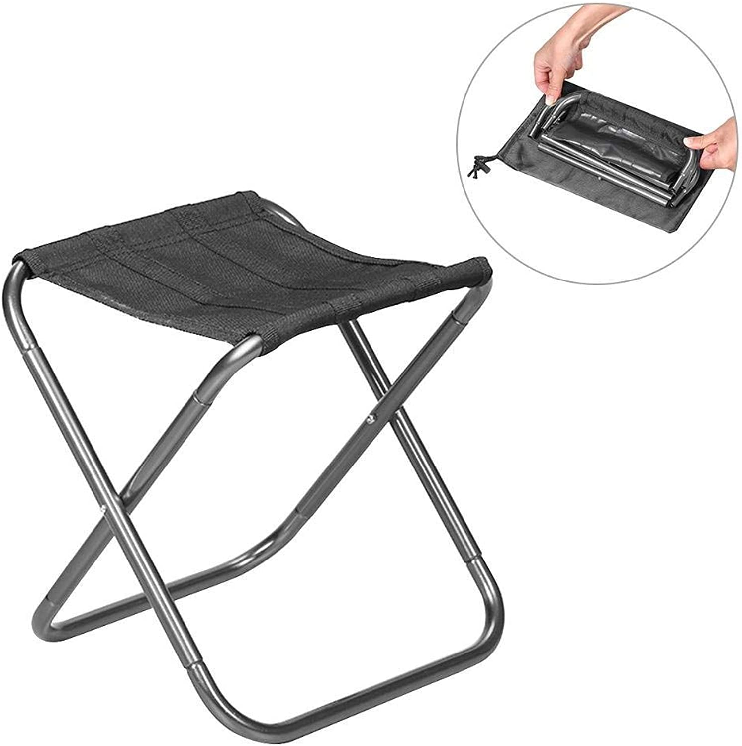 34006a82244a Outdoor Portable Folding Chair Fishing Chair Outdoor Camping Chair ...