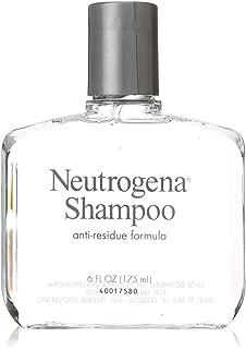 Neutrogena Anti-Residue Shampoo, Gentle Non-Irritating Clarifying Shampoo to Remove Hair Build-Up & Residue, 6 fl. oz (Pack of 3)