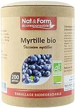 Nat Form Myrtille Bio A co-responsable 200 GA lules vA gA tales – 200 gA lules Estimated Price : £ 26,99
