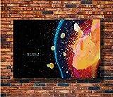 Flduod Poster und Drucke Psychedelic Radiohead Trippy-xx