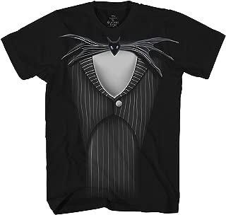 Nightmare Before Christmas Jack Skellington Costume Suit T-Shirt