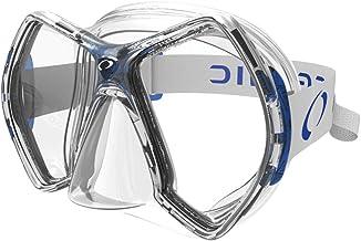 Oceanic Cyanea Diving Mask, Clear/Blue
