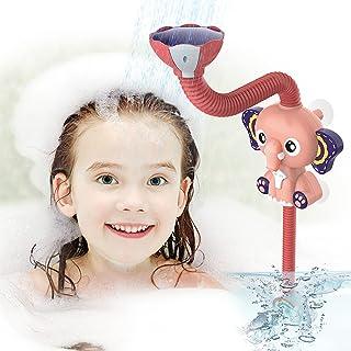 EARSOON Kids Bath Toys Bath Shower Head - Electric Elephant Adjustable Shower Head Bathtub Sprinkler Spraying Water Toy fo...