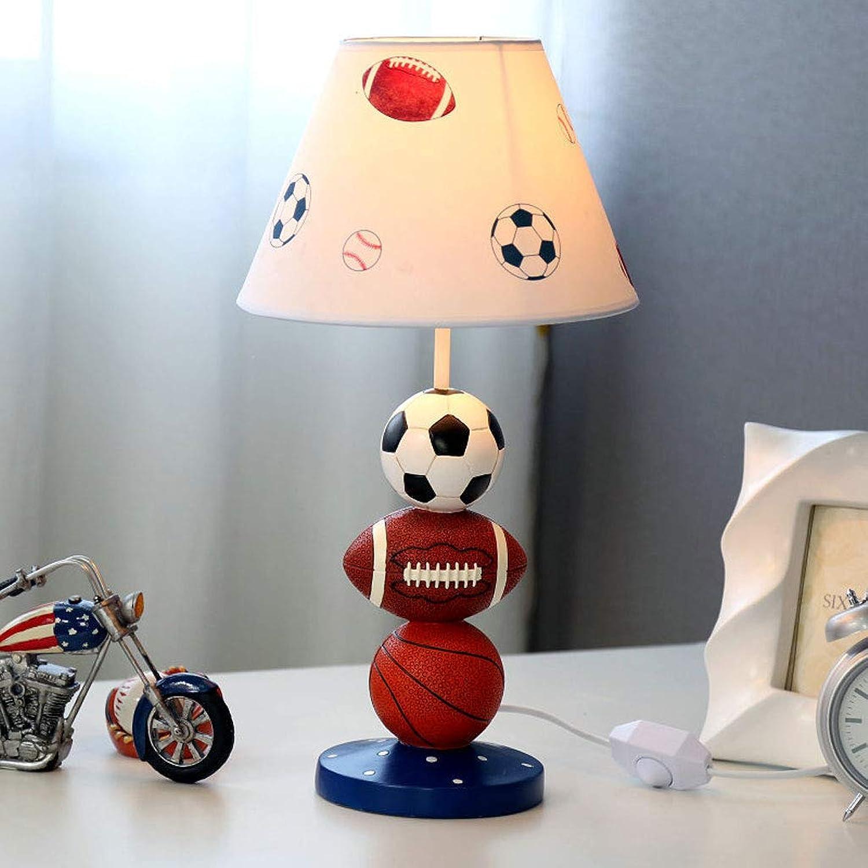 WZJ-TISCHLEUCHTE Amerikanische Schlafzimmer Nachttischlampe Dekoration Tischlampe Einfache Moderne Junge Mdchen Eye-Caring Leselampe (Farbe   B)