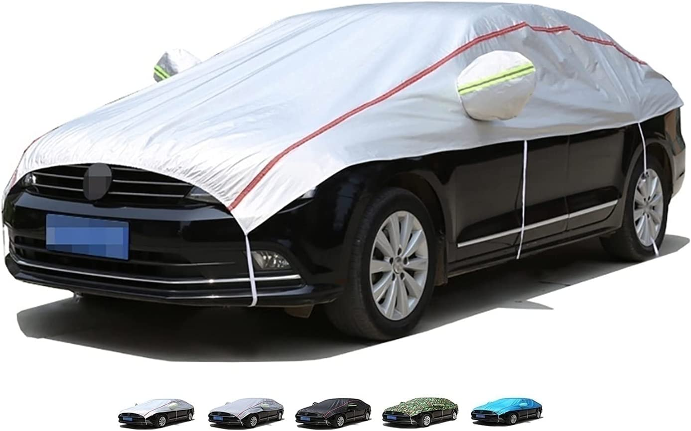 XJZHJXB Half car Cover Compatible Large-scale sale Direct store Windshield Mirror