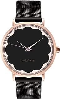 WRISTOLOGY Olivia - 3 Options - Womens Scallop Rose Gold Watch