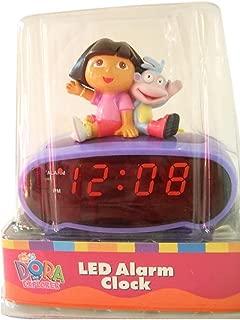 Dora the Explorer & Boots Led Alarm Clock