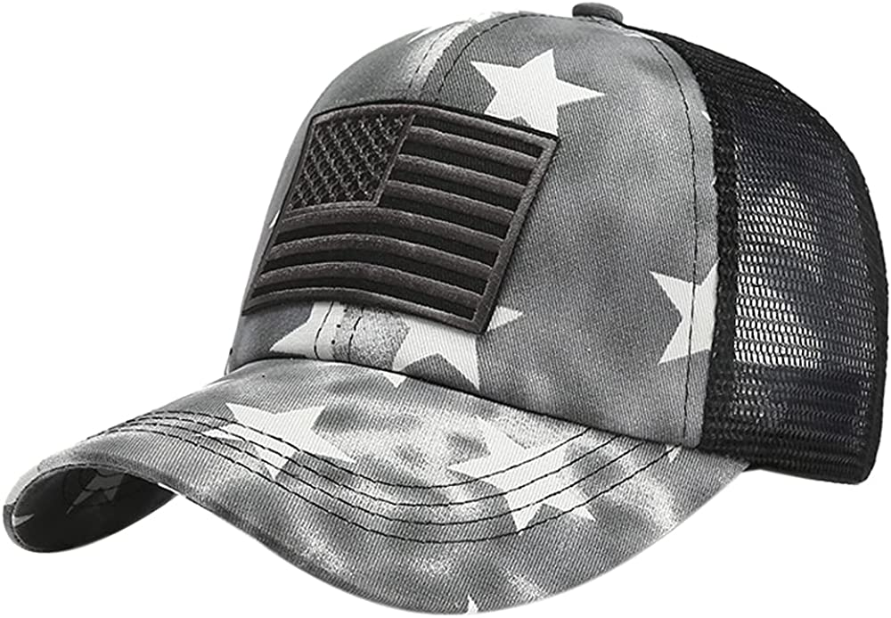 Max 40% OFF Belsen Star Embroidery Ponytail Baseball Cash special price Distr Cap Cotton Washed