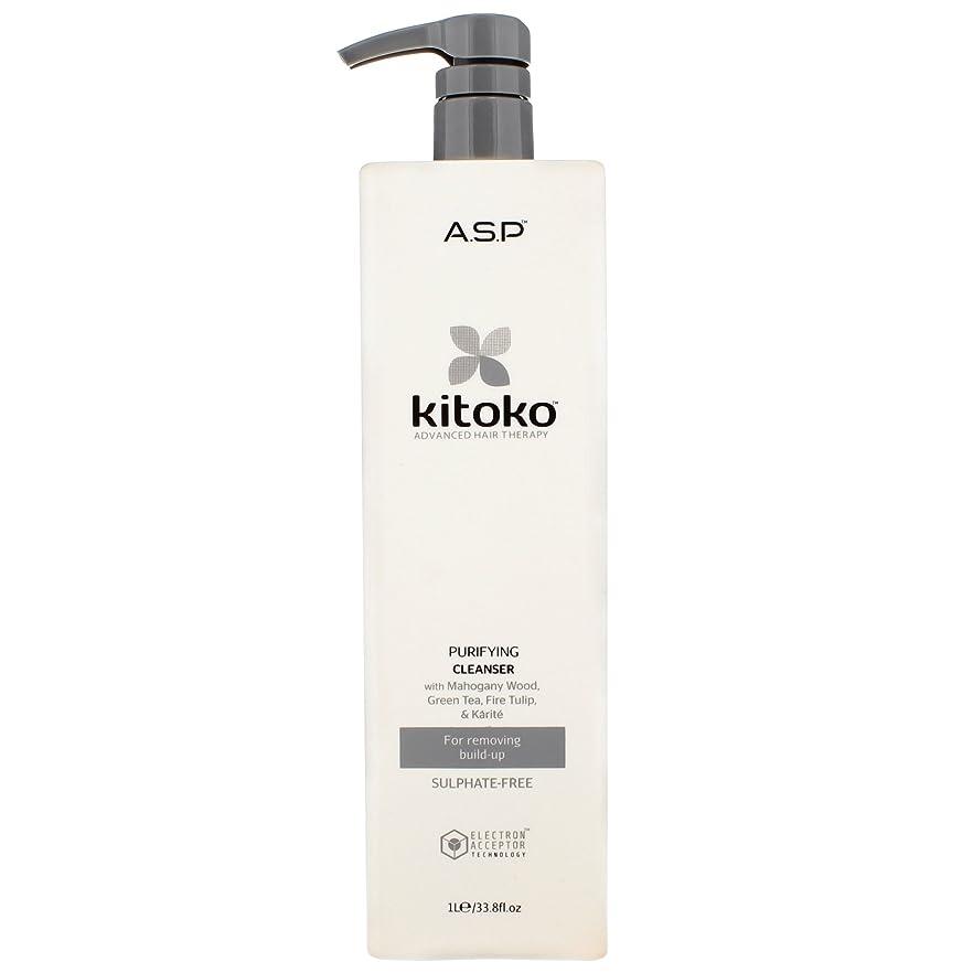 シュリンク所有権薄暗いPurify & Control by Kitoko Purifying Cleanser Shampoo 1000ml by Kitoko