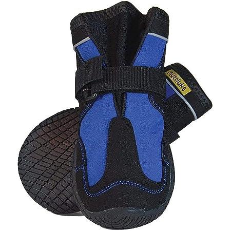 犬用靴 Snow Mushers (スノーマッシャーズ) 2/XS ブルー 2個入り [並行輸入品]