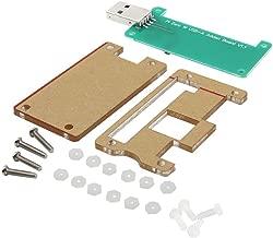 Richen Acrylic Case + Raspberry Pi Zero W USB-A Addon Badusb Board Kit for Raspberry Pi Zero W