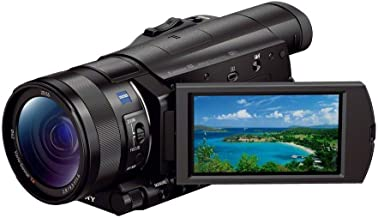 Sony FDR-AX100/B 4K Video Camera with 3.5-Inch LCD (Black) (Renewed)