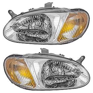 For 2007-2012 Versa Headlight Headlamp Replacement 07-12 Left Driver Side Light