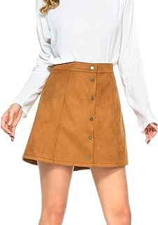 Best a line cord skirt knee length Reviews