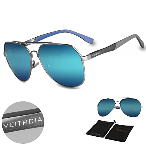 c4a0acf919b VEITHDIA 3598 Adjustable HD Polarized Aviator Sunglasses for Fishing Driving