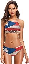 Ainans Pizza Pattern Italy Flag Bikini Swimwear Swimsuit Beach Suit Bathing Suits for Teens Girls Women