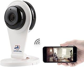 AIWAYDA Cloud 720P Cámara WiFi inalámbrica con cámara de seguridad de visión nocturna