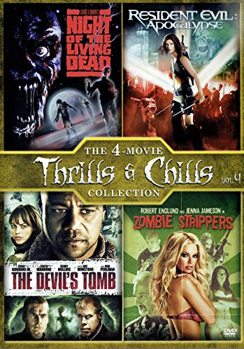 Devil's Tomb, the / Night of the Living Dead (1990) / Resident Evil: Apocalypse / Zombie Strippers - Set